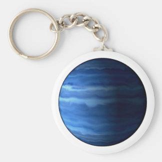 ~~ d'URANUS v2 (système solaire) de PLANÈTE Porte-clé Rond