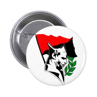 Durruti - Anarchy drapeau Badge