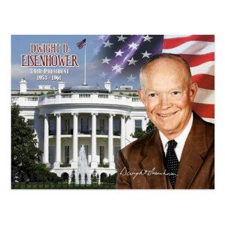 Dwight David Eisenhower - trente-quatrième Carte Postale