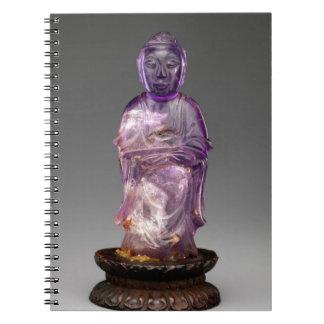 Dynastie posée de Bouddha - de Qing (1644-1911) Carnets À Spirale