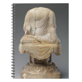 Dynastie sans tête de Bouddha - de Tang (618-907) Carnets