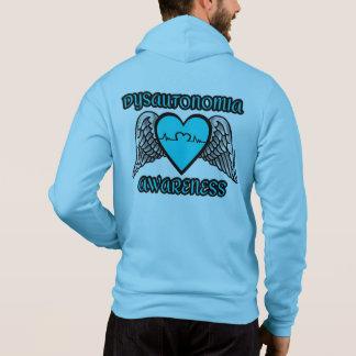 Dysautonomie de coeur/ailes… pull à capuche