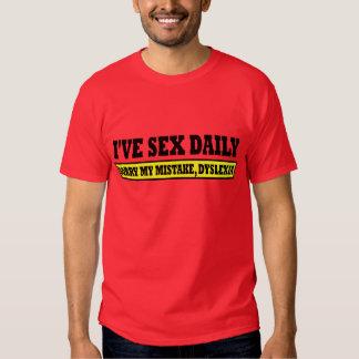 Dyslexique de mauvais goût t-shirts