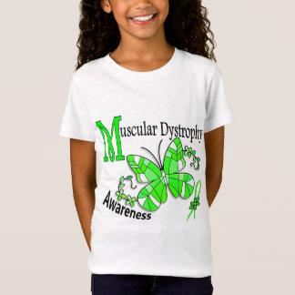 Dystrophie musculaire du papillon 2 en verre T-Shirt