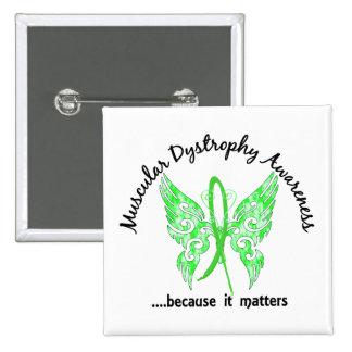 Dystrophie musculaire grunge du papillon 6,1 de pin's