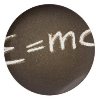 e=mc2… assiette