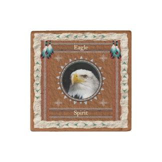 Eagle - aimant de marbre amorcé par esprit