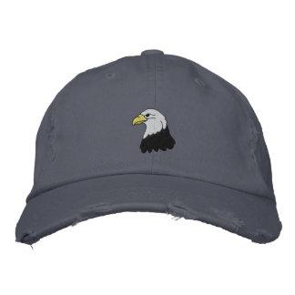Eagle chauve a brodé le casquette