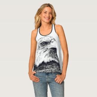 Eagle chauve américain débardeur