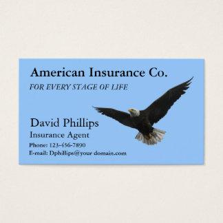 Eagle chauve américain patriotique cartes de visite