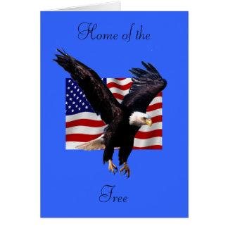 Eagle chauve cartes