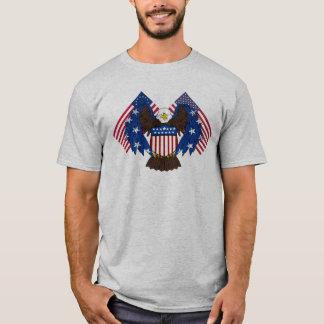 Eagle chauve de la liberté t-shirt