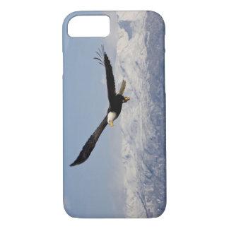 Eagle chauve en vol, leucocephalus de Haliaeetus, Coque iPhone 7