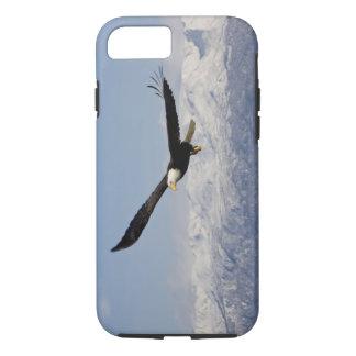 Eagle chauve en vol, leucocephalus de Haliaeetus, Coque iPhone 8/7