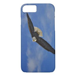 Eagle chauve en vol, leucocephalus de Haliaetus, Coque iPhone 8/7