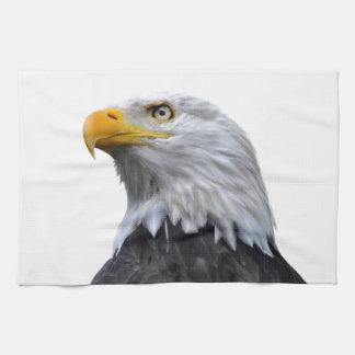 Eagle chauve serviettes éponge