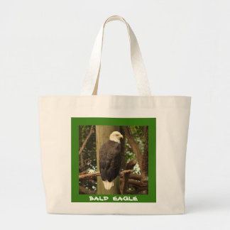 Eagle chauve (oiseau national) grand sac