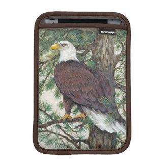Eagle chauve sur la branche housse pour iPad mini