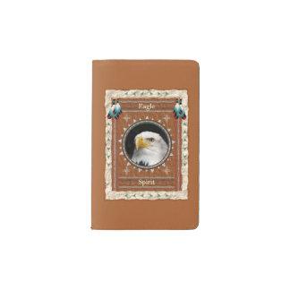 Eagle - couverture de velours de coton de carnet