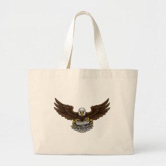 Eagle Esports folâtre la mascotte de Gamer Grand Tote Bag