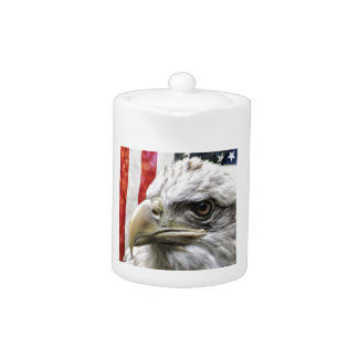 Eagle et drapeau