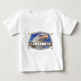 Eagle-Laissez l'anneau de liberté T-shirt Pour Bébé