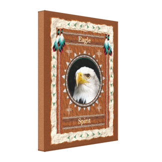 Eagle - l'esprit a étiré la toile enveloppée