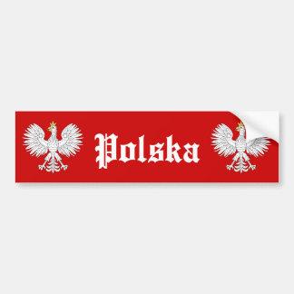 Eagle polonais Polska Autocollant De Voiture