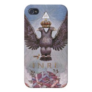 Eagles jumel maçonnique coque iPhone 4/4S