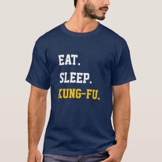 Eat Sleep Kung-Fu T-shirt