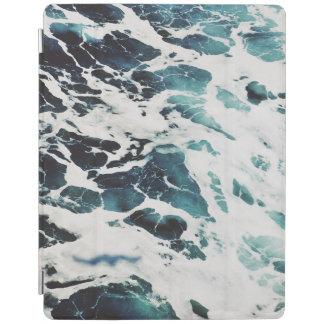 eau bleue de mer de ressacs la belle protection iPad
