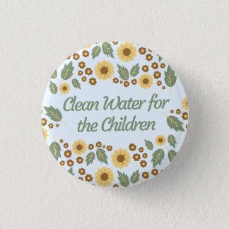 Eau propre pour les enfants badge