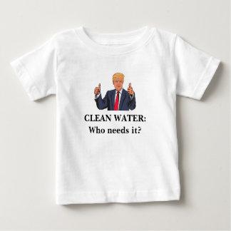Eau propre : Qui a besoin de elle ? T-shirt Pour Bébé