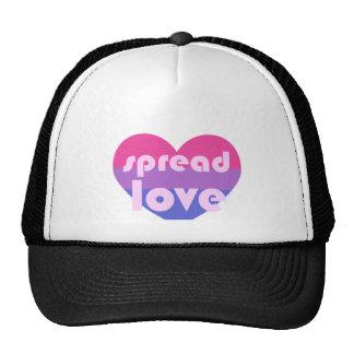 Écartez l'amour bisexuel casquette trucker