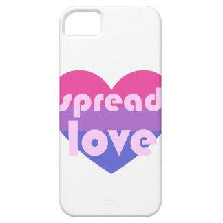 Écartez l'amour bisexuel coque barely there iPhone 5