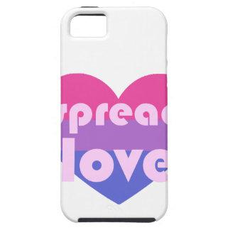 Écartez l'amour bisexuel coque iPhone 5