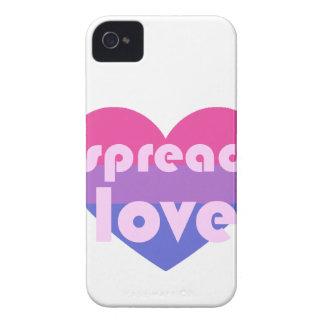 Écartez l'amour bisexuel coques iPhone 4