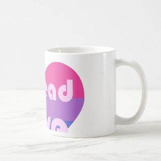 Écartez l'amour bisexuel mug