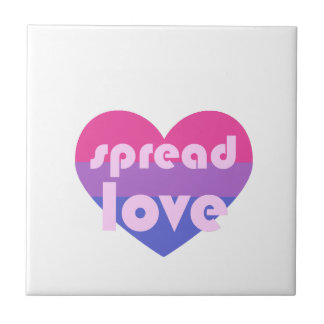 Écartez l'amour bisexuel petit carreau carré