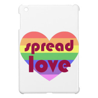 Écartez l'amour gai coques pour iPad mini