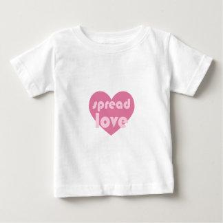 Écartez l'amour (général) t-shirt pour bébé