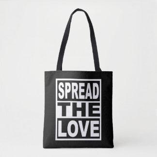 Écartez l'amour sac