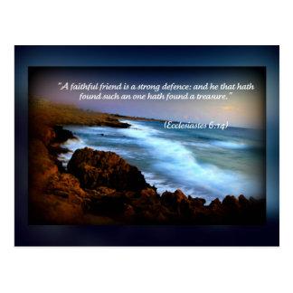 Ecclesiastes 6 carte postale