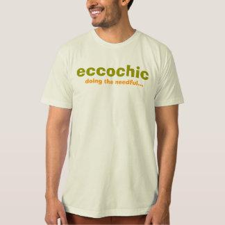 eccochic, faisant le nécessaire… t-shirt