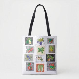 Échantillonneur de Vegetable&Fruit Tote Bag