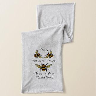 Écharpe Abeille deux ou pas abeille