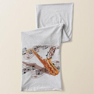 Écharpe abstraite de saxophone