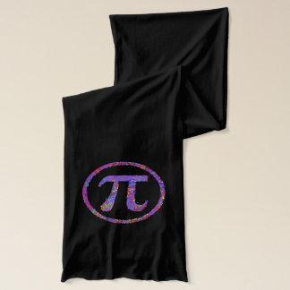 Écharpe Art d'égouttement de symbole de pi