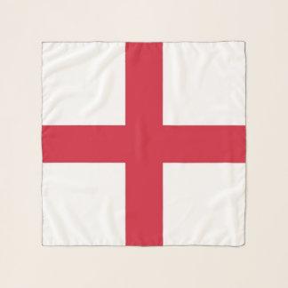Écharpe carrée avec le drapeau de l'Angleterre,