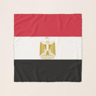 Écharpe carrée avec le drapeau de l'Egypte